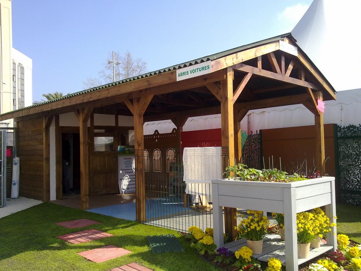 Abri Bois Pour Terrasse montage d'abri bois de jardin, construction de chalet