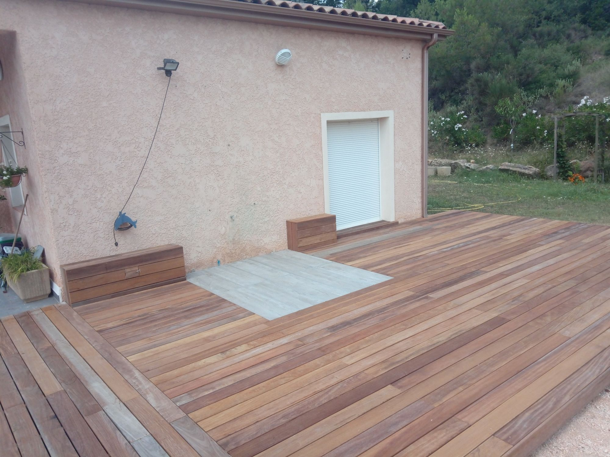 Terrasse En Bois Exotique terrasse en bois exotique camaru à brignoles dans le var