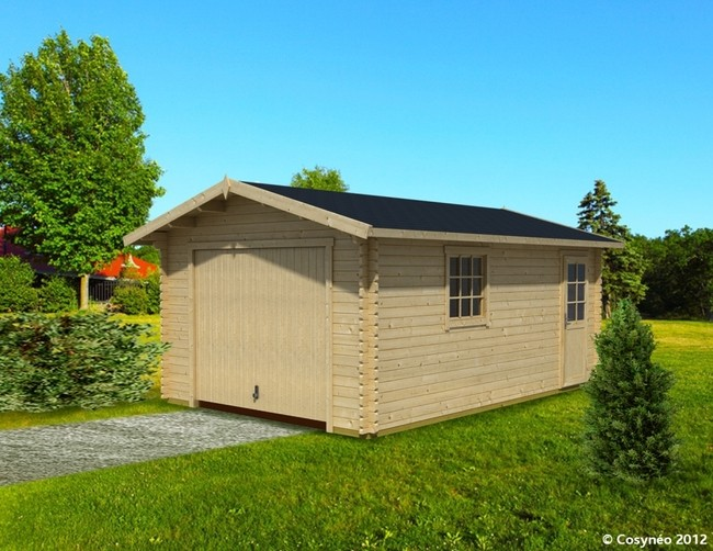Garage De Jardin En Bois abris de jardin en bois 4 garage bois abridis wasuk, construction  # Garage De Jardin En Bois