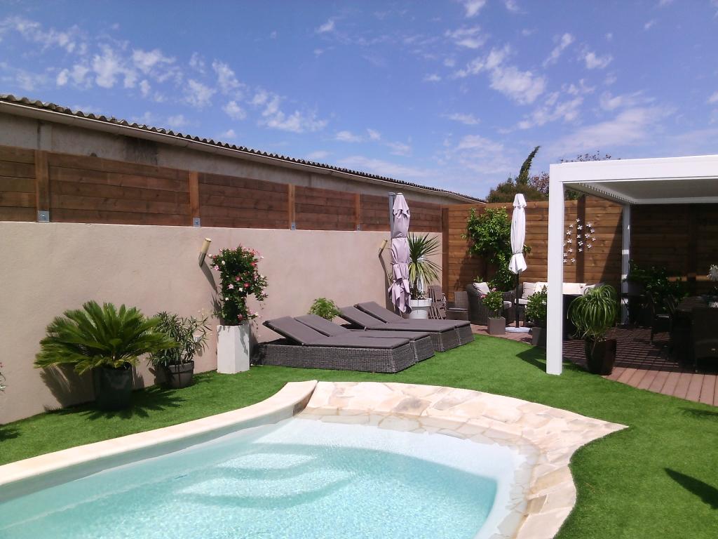 entreprise pour la pose d 39 une cl ture dans un jardin saint maximin ja d e espaces verts. Black Bedroom Furniture Sets. Home Design Ideas